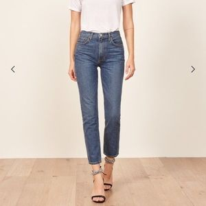 Julia Crop Cigarette Jeans